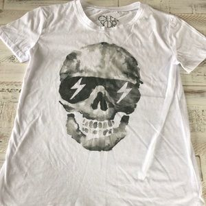 Chaser Skull Tee Size Small